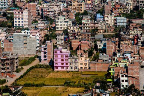 Kathmandu from Swayambhunath, Nepal