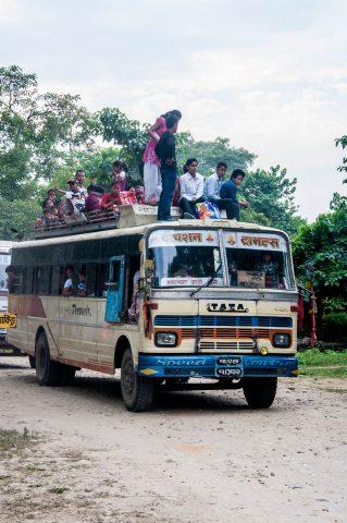 Local bus,  Royal Chitwan National Park, Nepal