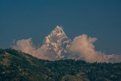 Annapurna Himalayan range, Pokhara, Nepal
