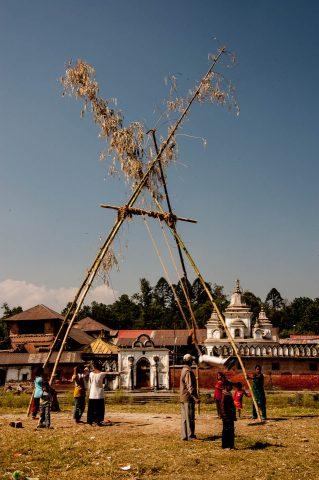 Festival swing, Pokhara, Nepal