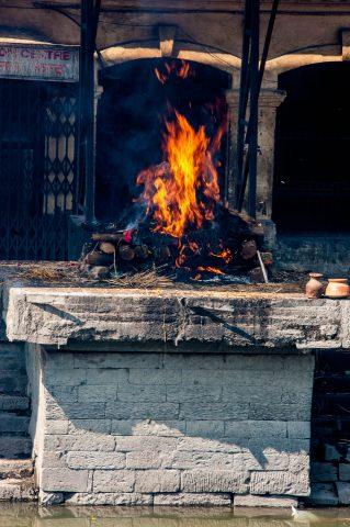 Pashupatinath Temple ghat, Kathmandu,  Nepal