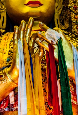 Guru Lhakhang Monastery, Boudha,  Kathmandu, Nepal