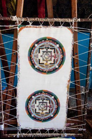 Tibetan paintings, Kathmandu, Nepal