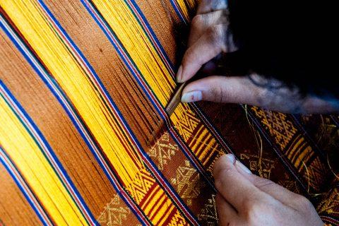 Traditional weaving, Thimphu, Bhutan
