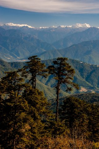 Dochula Pass view, Bhutan