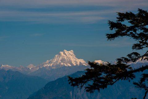 Masangang peak (23484ft) from Dochula Pass, Bhutan