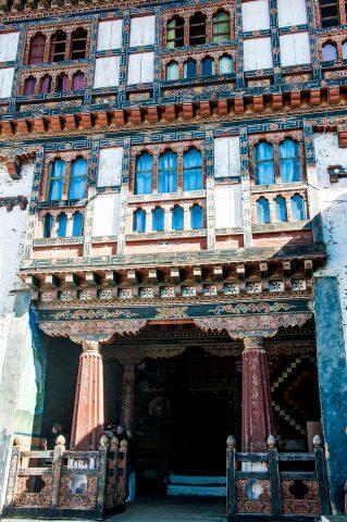 Trongsa Dzong inside, Bhutan