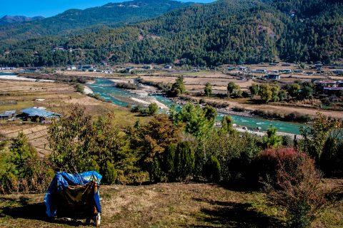 Choekhor river valley, Bhutan