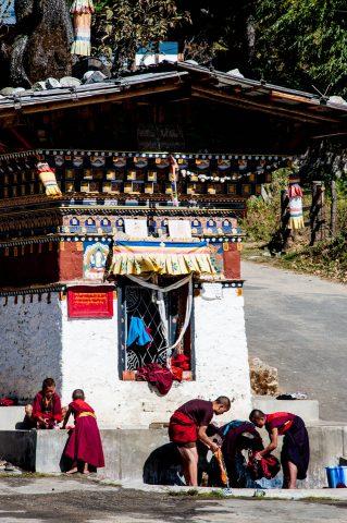 Tamshing Lhakhang entrance,  Bhutan