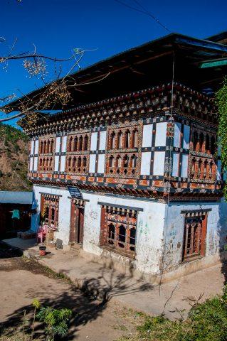 House, Lobesa, Punakha, Bhutan