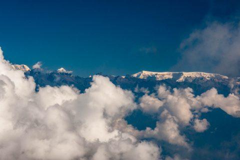 Zongphu Gang mountain from Doochula Pass, Bhutan