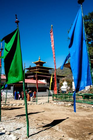 Kyichu Lhakhang coronation day celebrations,  Paro, Bhutan
