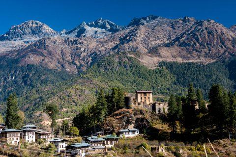 Tshento, Paro valley, Bhutan