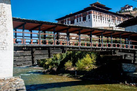 Rinpung Dzong entrance, Paro, Bhutan