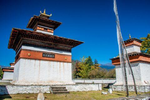 Chortens, Paro, Bhutan