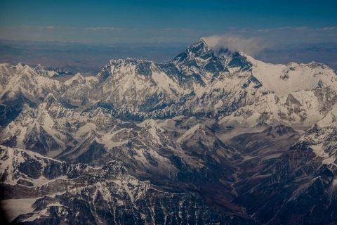 Everest enroute from Paro to Kathmandu