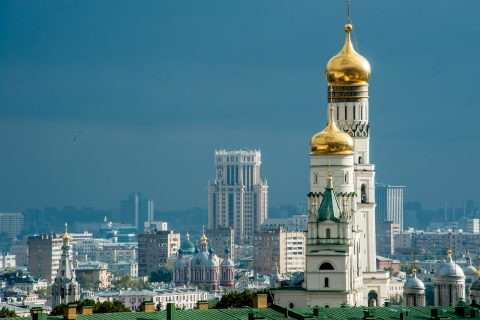 Ivan the Great Bell Tower, Kremlin, Moscow