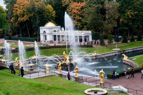 Grand Cascade, Water Avenue, Peterhof, St Petersburg