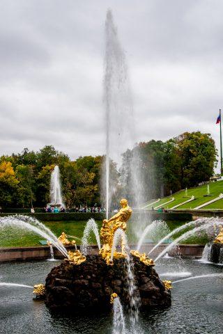 Grand Cascade, Peterhof, St Petersburg