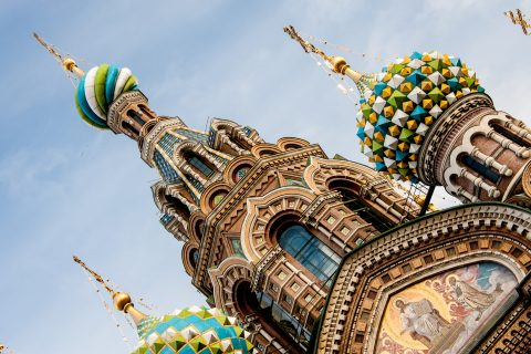 Church on the Spilled Blood, St Petersburg