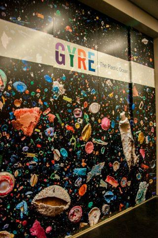Gyre rubbish exhibition, Anchorage Museum, Alaska