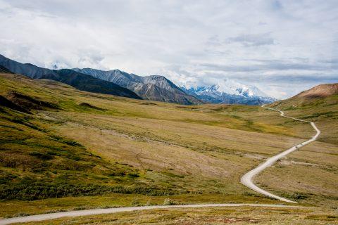 View from Highway Pass, Denali NP, Alaska