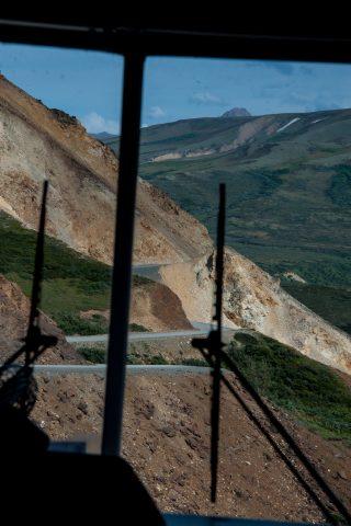 Polychrome Pass road, Denali NP, Alaska