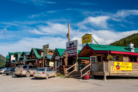 Denali village, Alaska