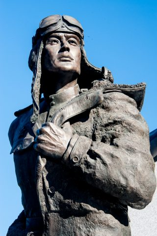 Lend Lease Monument, Fairbanks, Alaska