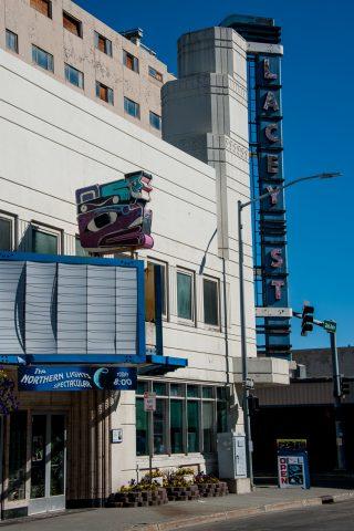 Art deco Lacey Theatre, Fainbannks, Alaska