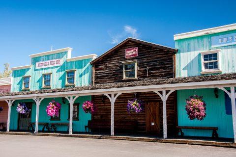 Pioneer Park - gold rush town, Fairbanks, Alaska