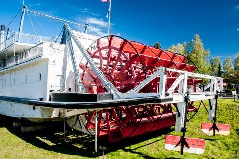 SS Nenana, Pioneer Park, Fairbanks, Alaska