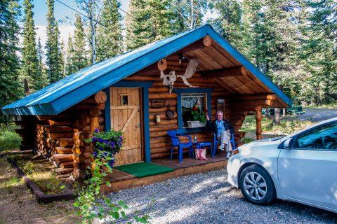 Our lodging at Tok, Alaska