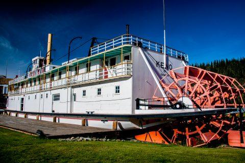 Keno sternwheeler, Dawson City, Yukon, Canada