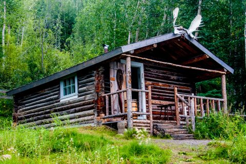 Robert Service's cabin, Dawson City, Yukon, Canada