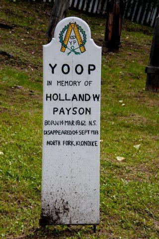 YOOP cemetery, Dawson City, Yukon, Canada