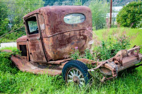 Abandoned, Dawson City, Yukon, Canada
