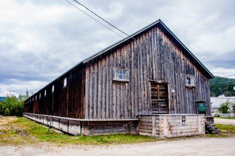 Warehouse, Dawson City, Yukon, Canada