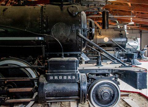 Klondike Railway, Dawson City Musuem, Yukon, Canada