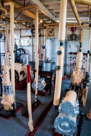 SS Klondike engine room, Whitehorse, Yukon, Canada