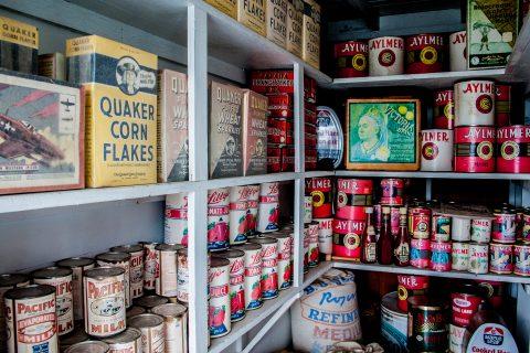 SS Klondike galley stores, Whitehorse, Yukon, Canada