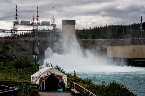 Yukon dam, Whitehorse, Yukon, Canada