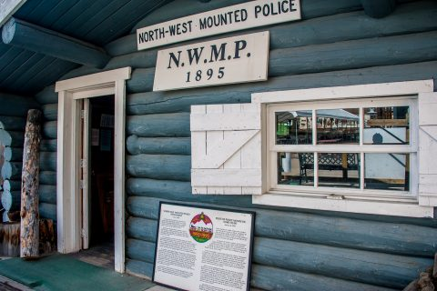NWMP Cabin, Museum Whitehorse, Yukon, Canada