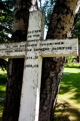 War Memorial, Whitehorse, Yukon, Canada