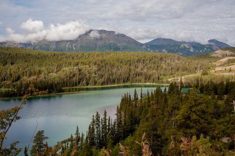 Emerald Lake, near Carcross, Yukon, Canada