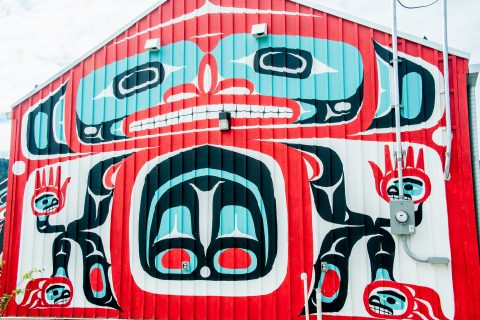 Carcross Tagish First Nation people - decoration, Carcross, Yuko
