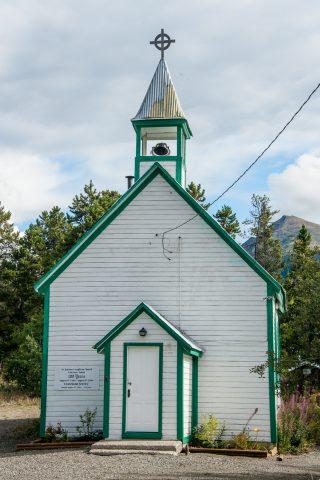 St Saviour's Anglican Church, Carcross, Yukon, Canada