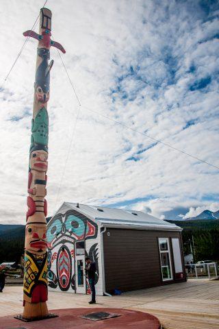 Carcross Tagish First Nation people -  totem pole, Carcross, Yuk
