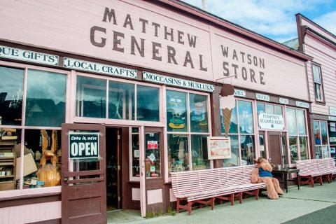Shop, Carcross, Yukon, Canada
