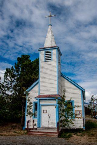 St John the Baptist Catholic church, Carcross, Yukon, Canada